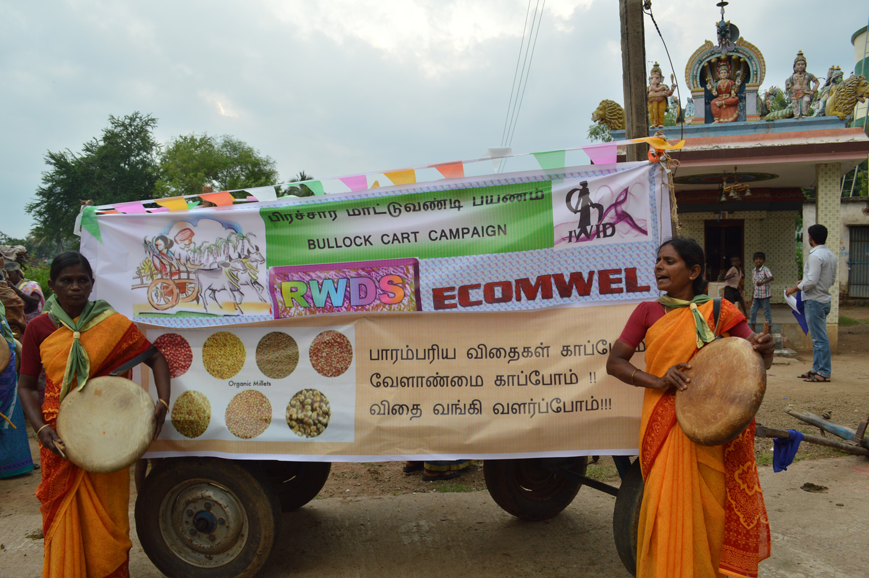 Bullock cart campaign