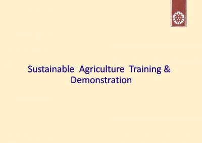 Sustainable Agriculture (1)